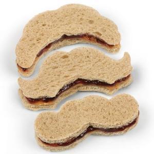 Crustache Mustache Sandwich Cutter by Fred