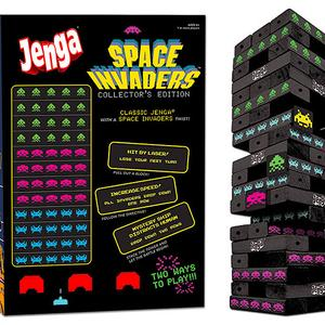 Jenga Space Invaders Collectors Edition