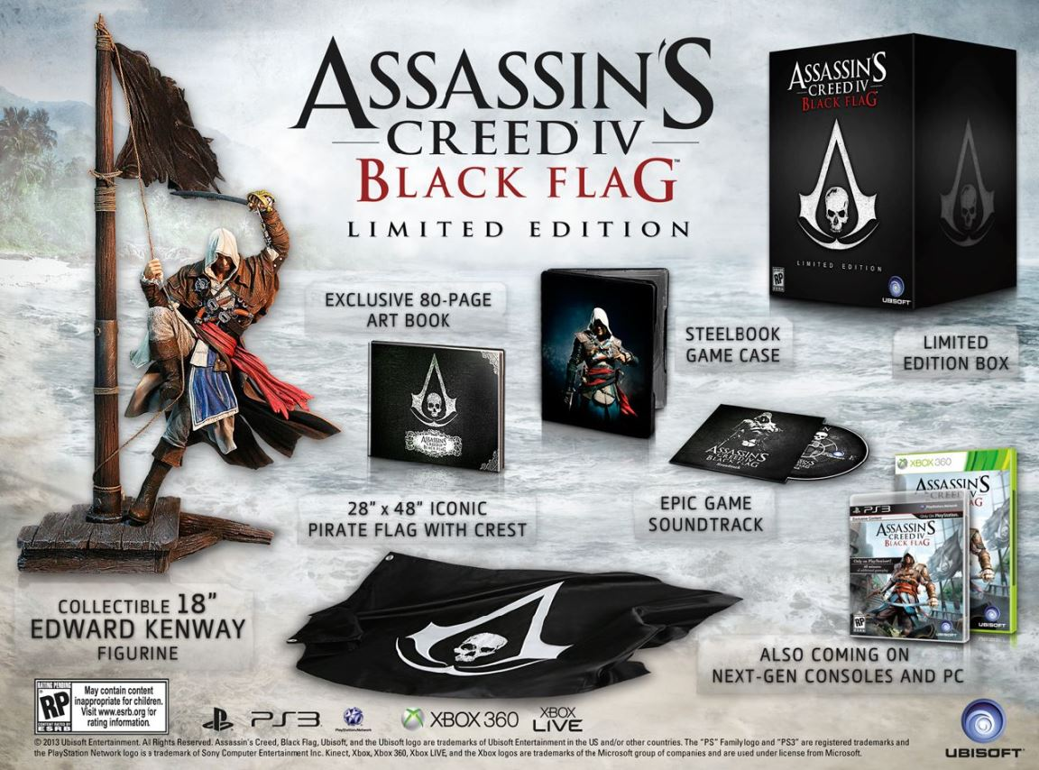 Assassin's Creed IV Black Flag Limited Edition