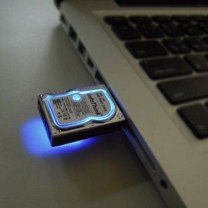Mini Hard Disk 8GB USB2.0 flash drive
