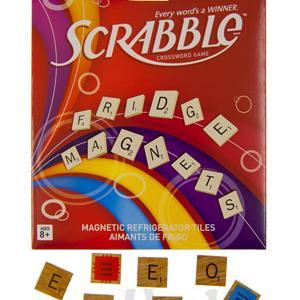 SCRABBLE® Magnetic Refrigerator Tiles